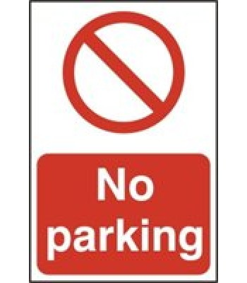 Sign No Parking 300x200