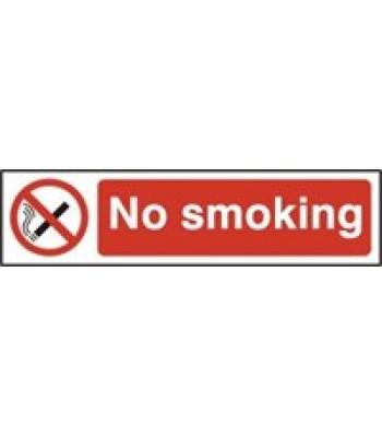 Sign Mini No Smoking