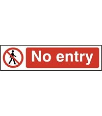 Sign Mini No Entry