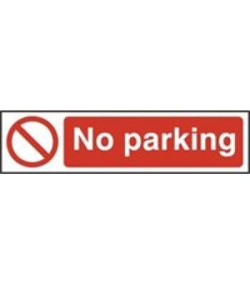 Sign Mini No Parking