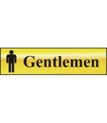 Sign Mini Gentlemen