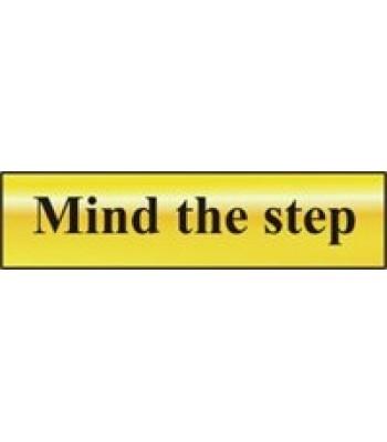 Sign Mini Mind the Step