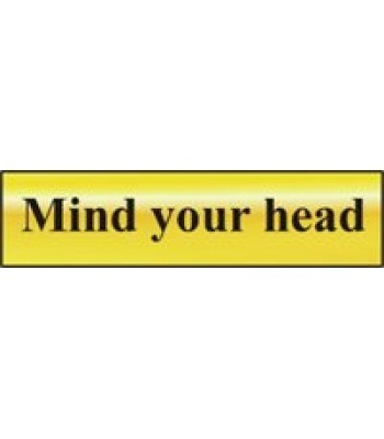 Sign Mini Mind your Head