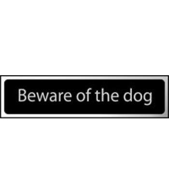 Sign Mini Beware of the Dog