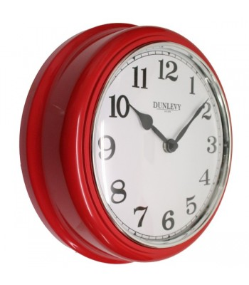 Wall Clock CL2001R Red
