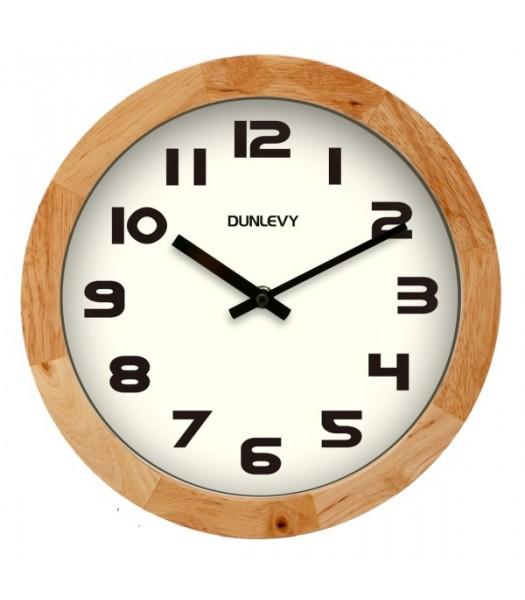 Wall Clock Pine
