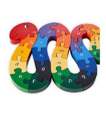 Alphabet Jigsaw Alphabet Snake