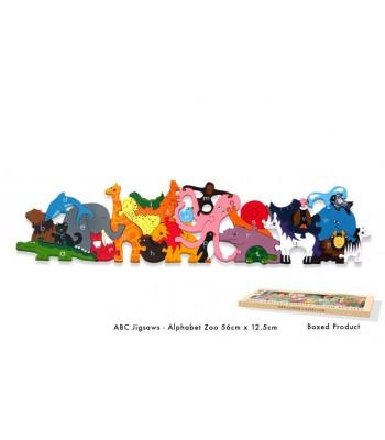 Alphabet Jigsaw Alphabet Zoo