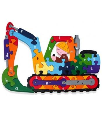 Alphabet Jigsaw Alphabet Digger