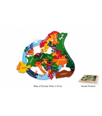 Alphabet Jigsaw Alphabet Map Of Europe