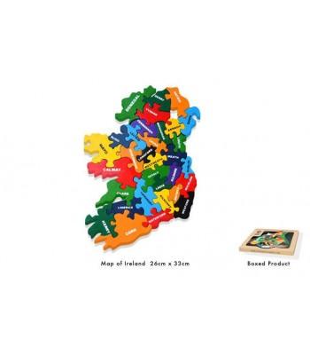 Alphabet Jigsaw Alphabet Map Of Ireland