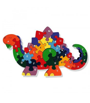 Alphabet Jigsaw Alphabet Dinosaur