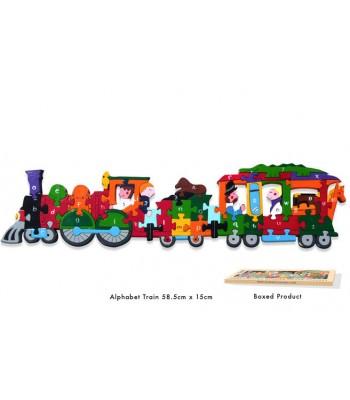 Alphabet Jigsaw Alphabet Train