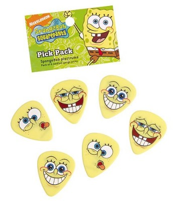 Plectrum Pack Spongebob