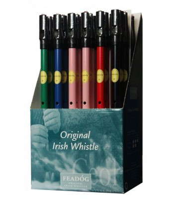 Tin Whistle Feadog Key of D BLUE