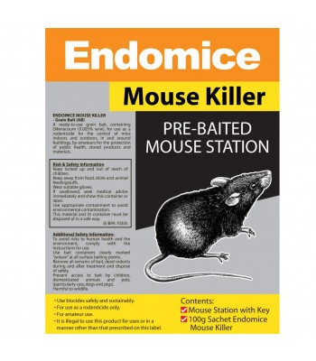 Endomice Pre-baited Mouse Station