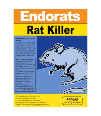 Endorats Rat Killer 400g