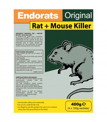 Endorats Original Rat + Mouse Killer 400g