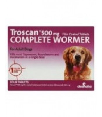 Troscan Dog Wormer Large Dogs