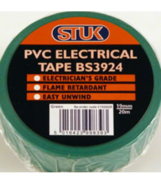 Insulating Tape 20m Green