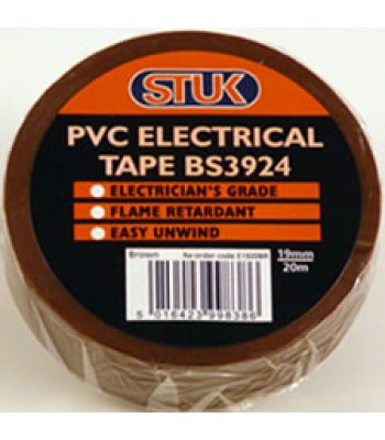Insulating Tape 20m Brown
