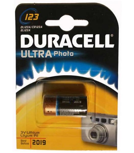 Battery CR123 Duracell